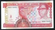 GAMBIA :  5 Delasis  - P12 - AUNC - Gambia