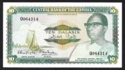 GAMBIA :  10  Delasis  - P10 - AUNC - Gambia