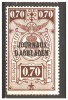 Mz-358     Ocb DA/RG 23 ** - Zeitungsmarken