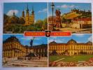 Kappele Feste Marienberg Residenz Gruss Aus Würzburg Am Main Germany Postcard - Unclassified