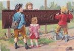 Rare Chromo SUCHARD, N° 23 / 5, Thème: Enfants; Prototype - Suchard