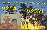 QSL-CARDS - AK 91741 Antigua / Barbuda - Leeward Islands - Radio Amateur