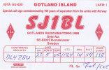 QSL-CARDS - AK 91924 Sweden - Gotland Island - Romakloster - Radio Amateur