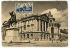 CARTE MAXIMUM - N°379 VERSAILLES - OBLITERE VERSAILLES 21/07/1938 - LECONTE 4 - Non Classés