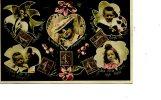 Timbre 10C Coeur  Souhait Rose  Couple Jeunes Epoux - Briefmarken (Abbildungen)