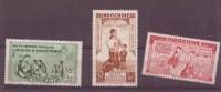 Indochine N° 20 à 22 ** PAR AVION Neuf Sans Charniere - Indochine (1889-1945)
