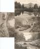 Gentse Floraliën / Floralies Gantoises 1906 ----- 4 Kaarten   - 4 Cp - Gent