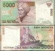 INDONESIA 5000 5,000 R. 2001/2004 P 142d UNC - Indonésie