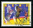BRD - Mi 1600 - OO Gestempelt (B) - 100Pf    Renz Zirkus - [7] République Fédérale