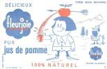 BUVARD , FLEURJOIE ,  Jus De Pomme - Buvards, Protège-cahiers Illustrés