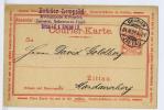 Zittau  Courier Verkehr Anstalt 1899 (139)