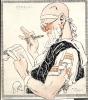 Vloeipapier Buvard Vergilius - Illustr. Rene Vincent - Buvards, Protège-cahiers Illustrés