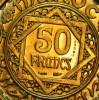 ESSAI 50 FRANCS BRONZE ALUMINIUM 1371 SPLENDIDE - Maroc