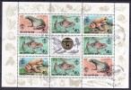 1249/ Frosch Frog Kleinbogen Mini Sheet Of 8 Stamps - Frösche