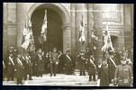 CPA.  GUERRE 1914-1918. Galerie Patriotique. Remise Aux Invalides De Six Drapeaux Pris à L'ennemis. - Patriotiques