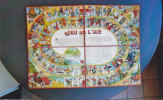 GIOCO DELL'OCA GIOCO DI SOCIETA' RIGIDO PIEGHEVOLE IN 4 PARTI -2 0882-12211 - Group Games, Parlour Games