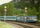 SAINT DENIS PRES MARTEL (46) Autorail X 2800 Et 2 Remorques XR 6000 Le 14 Juillet 1991 - Treinen
