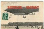 DIRIGEABLE  REPUBLIQUE - Rare - 1er Attérissage Reussi Après Les Essais Définitifs - Aviation - Carte 1900 Edit ND N°19 - Dirigibili