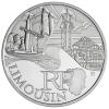 10 Euros Des Régions LIMOUSIN 2011 - France