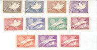 Complete Mint Set  #715-725 - Paraguay