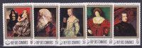 COMORES N° 233 à 237neufs **  Sans Charnière, Cote: 2.85 €, Rubens, Tableaux - Comoros