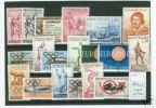 1960 Repubblica Annata Completa 19 Valori INTEGRI MNH** - 6. 1946-.. Republik