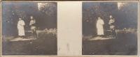 Amiens Guerre WW1  Militaire Hopital Auxiliaire L´équipe Chirurgicale Médecin Deroo - Stereo-Photographie