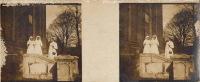 Amiens Guerre WW1  Hopital Militaire De La Croix Rouge Auxiliaire N°1 Major Deroo Infirmière - Stereo-Photographie