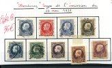1921  Montenez Neufs *  Et Oblitérés    Cote 35 E - Belgium