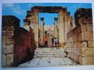 Entrance Of The Churches Area Jerash Jordan Postcard - Jordan