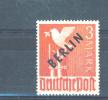 WEST BERLIN  -  1948  3m  MM - Neufs