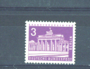 WEST BERLIN  -  1956  Buildings And Monuments  3pf  MM - Neufs