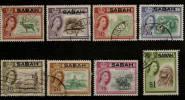 MALAYSIA SABAH 1964-65 VALUES TO $1 SG 408/420 FINE USED Cat £3.60 - Sabah