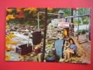 Moonshine Still Ozark Mountains   Early Chrome   ==   == == Ref 312 - Postcards