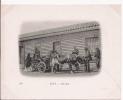 LOTA 186 UNE RUE (ATTELAGE DE BOEUFS ET ANIMATION) 1902 - Chili