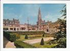 ROYE (80) - CPSM-CPM GF N° 0173 : Le Jardin Public Et L'Hotel De Ville (Somme) - Roye