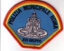 Police Municipale Italie POLIZIA Carabinier Rome - Politie & Rijkswacht