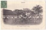 (Tonkin) 161, Moreau 1118, Tirailleurs Tonkinois à La Canne, Dos Non Divisé - Viêt-Nam
