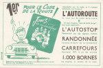 BU 873 /  BUVARD    CODE DE LA ROUTE   JEUX - Löschblätter, Heftumschläge