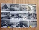 BRETAGNE COTE D´EMERAUDE MULTIVUES DE 1958  ST LUNAIRE ST BRIAC FORT LA LATTE ERQUY VAL ANDRE ST JACUT ETC - Bretagne