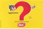 BU 921 /  BUVARD     STYLOS BIC - Stationeries (flat Articles)