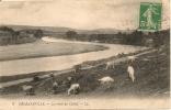 Cpa Orléansville Les Bords Du Chéliff - Alger