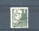 GERMANY (ALLIED OCCUPATION) - SOVIET ZONE  -  1948  Politicians, Artists And Scientists  2pf  FU - Zone Soviétique