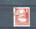 GERMANY (ALLIED OCCUPATION) - SOVIET ZONE  -  1948  Politicians, Artists And Scientists  8pf  FU - Zone Soviétique