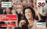 ITALY - Girl, Omnitel/Vodafone Prepaid Card 30 Euro, Exp.date 31/12/06, Used - Italië