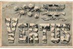 Souvenir De VERTUS (51).Multi-vue Dans Les Lettres - Vertus