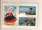 85 COSTUME De NOIRMOUTIER En Tissus Carte NEUVE 3 Vues Sous Blister Avec Enveloppe - Noirmoutier