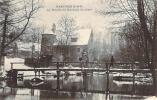 94 - Mandres - Le Moulin De Rochopt En Hiver (neige) - Mandres Les Roses