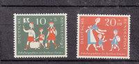 ALLEMAGNE  FEDERALE  1957      N°129 - 130  NEUFS**         CATALOGUE YVERT&TELLIER - Neufs