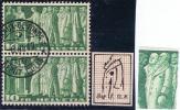 Schweiz 1942 Paar Zu#218w Mi#330 Sympolische Abart 2.02 Orden Am Mantel - Suisse